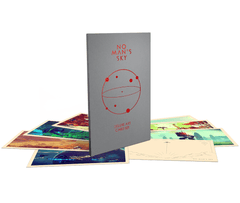 No Man's Sky Deluxe Art Card Set