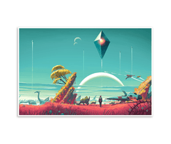 Launch Day Poster (No Man's Sky)