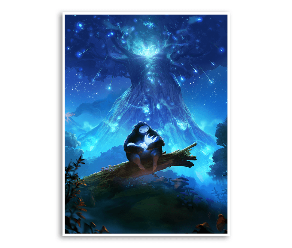 Cover Art Poster (Ori and the Blind Forest)
