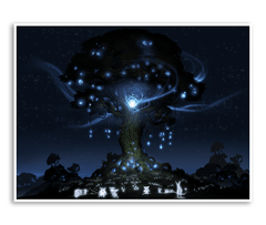Light Ceremony Gicl̩e Print (Ori and the Blind Forest)