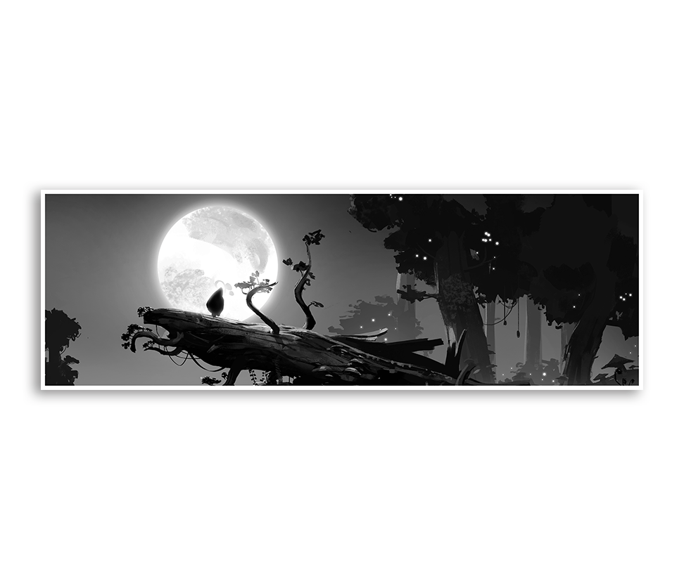 The Gift Giclée Print (Ori and the Blind Forest)