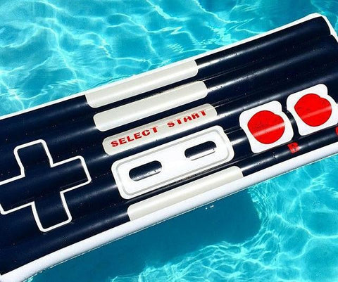Retro Game Pool Floaty