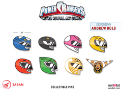 Power Rangers Enamel Pins