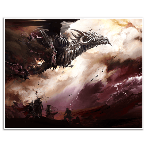 Blazeridge Steppes Giclée Print (Guild Wars 2)