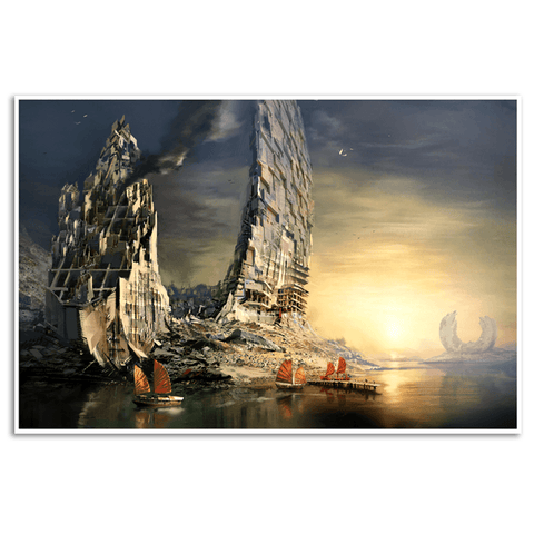 Broken Ring Gicl̩e Print (Guild Wars 2)