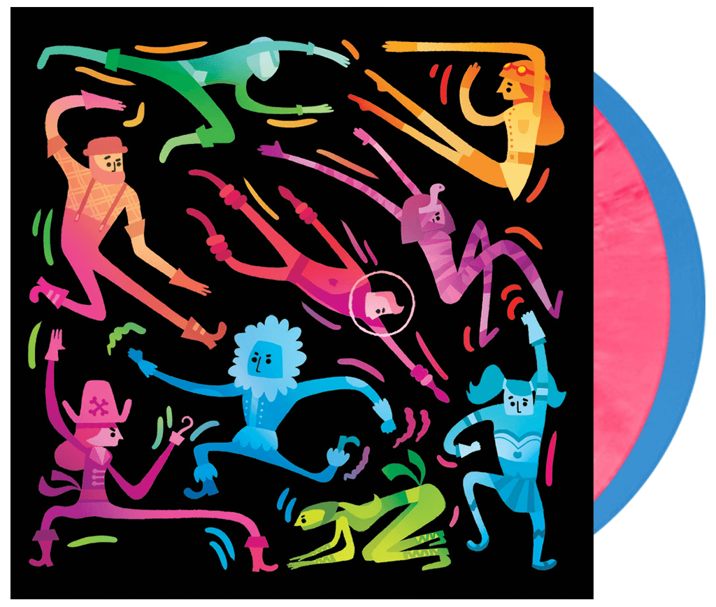 Runbow Original Soundtrack 2xLP