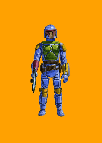 Boba Fett Print by Jason Brockert