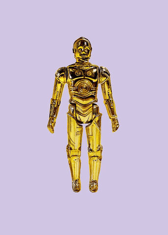 C-3PO Print by Jason Brockert