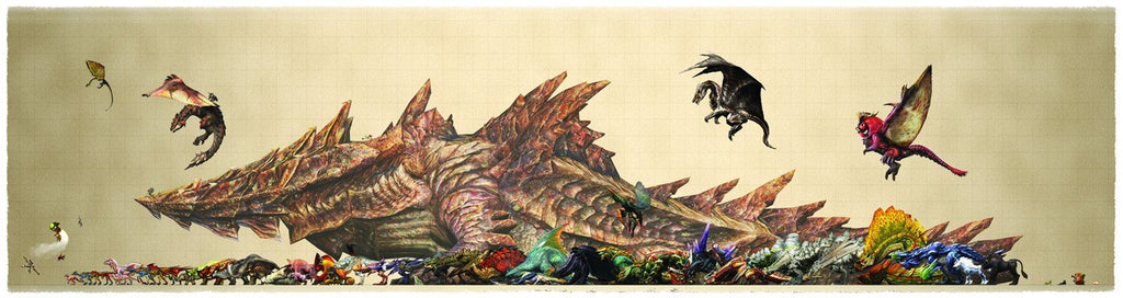 Monster Hunter Size Chart