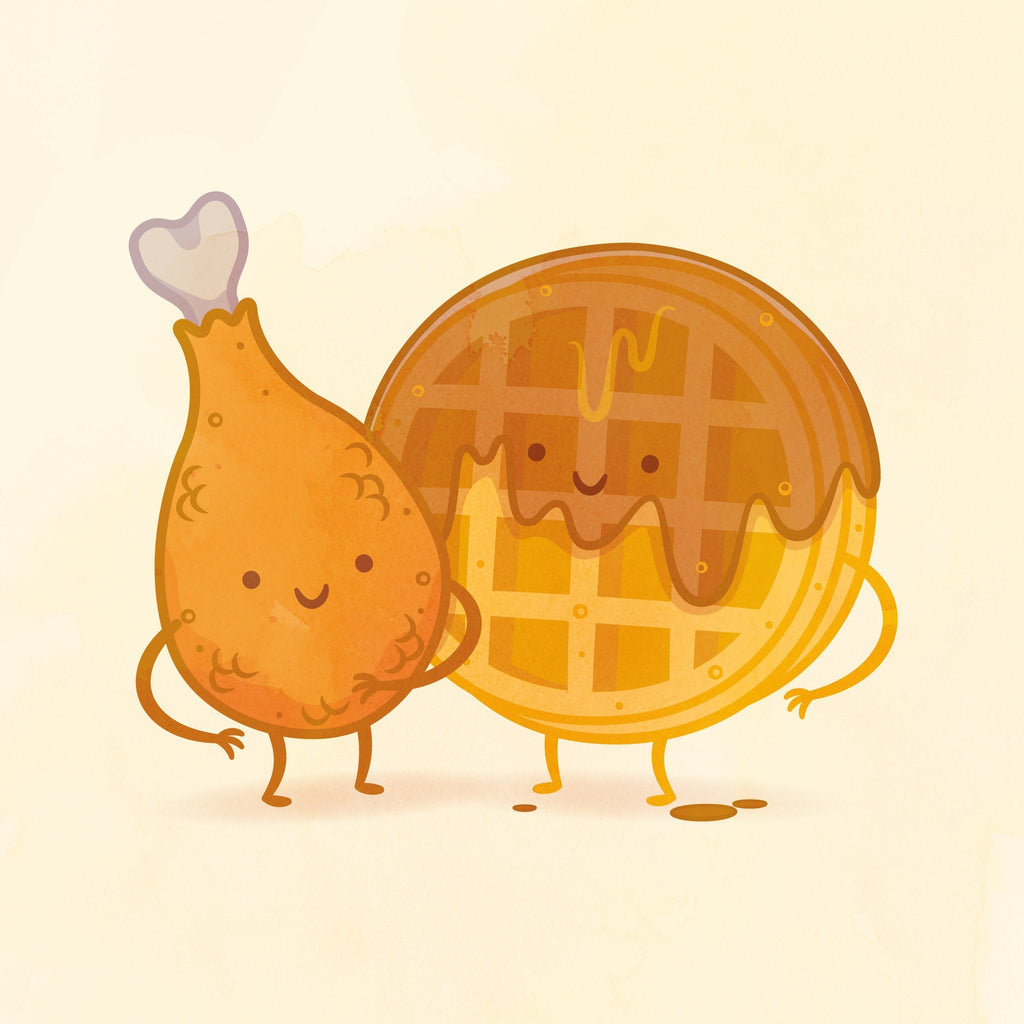 Chicken and Waffle by Philip Tseng