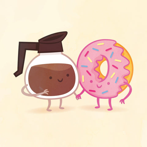 Coffee and Donut by Philip Tseng