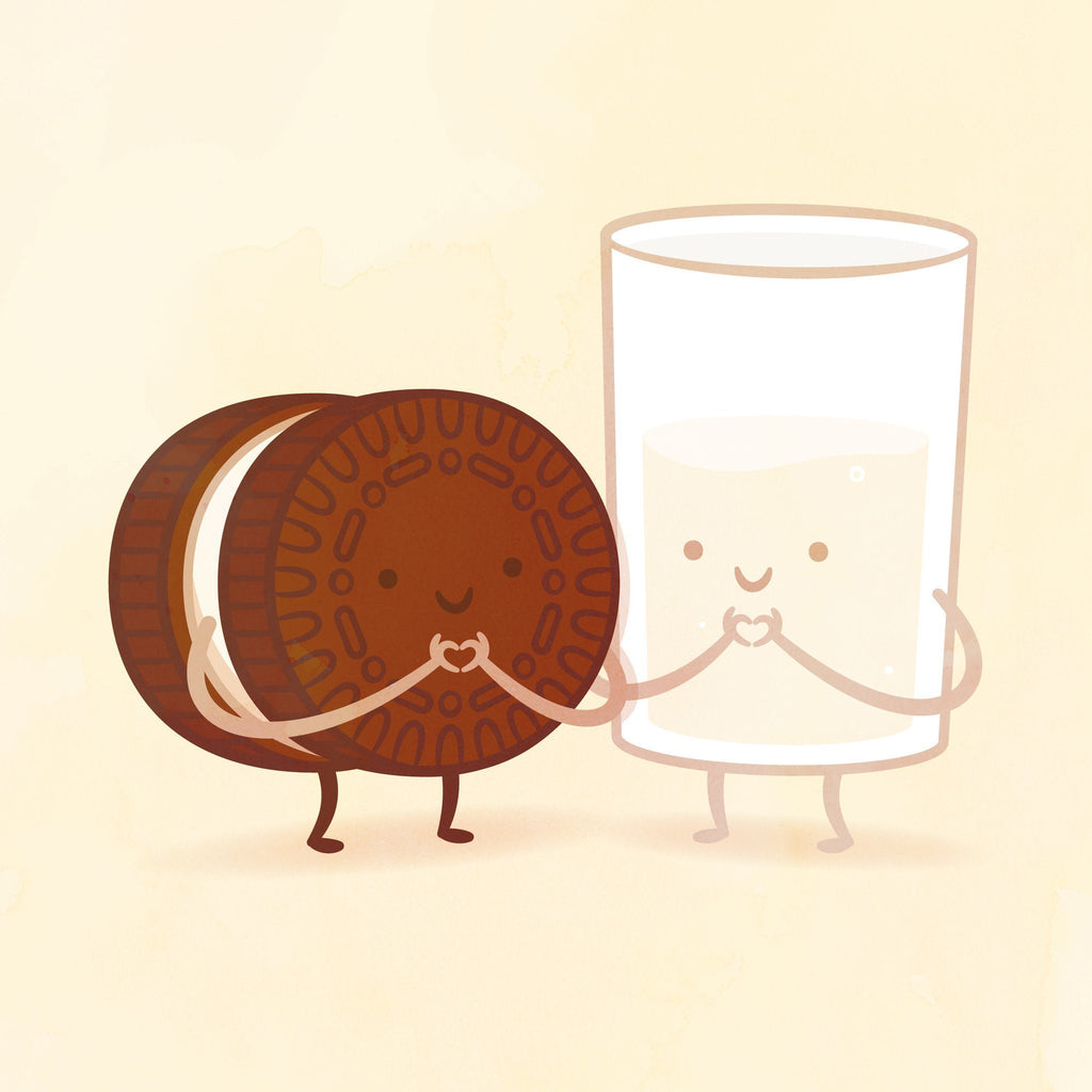 Cookie and Milk by Philip Tseng