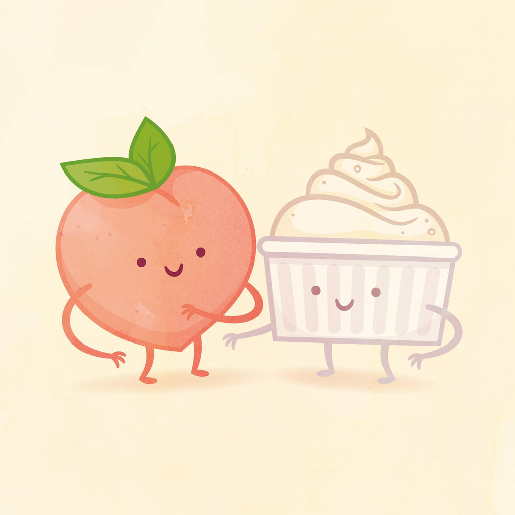 Peach and Cream by Philip Tseng
