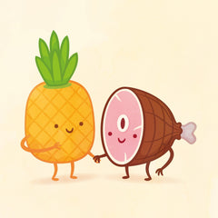 Pineapple and Ham by Philip Tseng