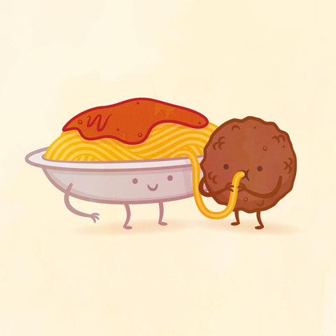 Spaghetti and Meatball by Philip Tseng