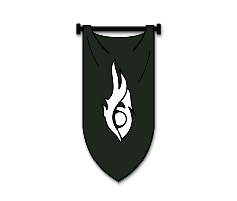 The Vigil Order Pin (Black Sash, Guild Wars 2)