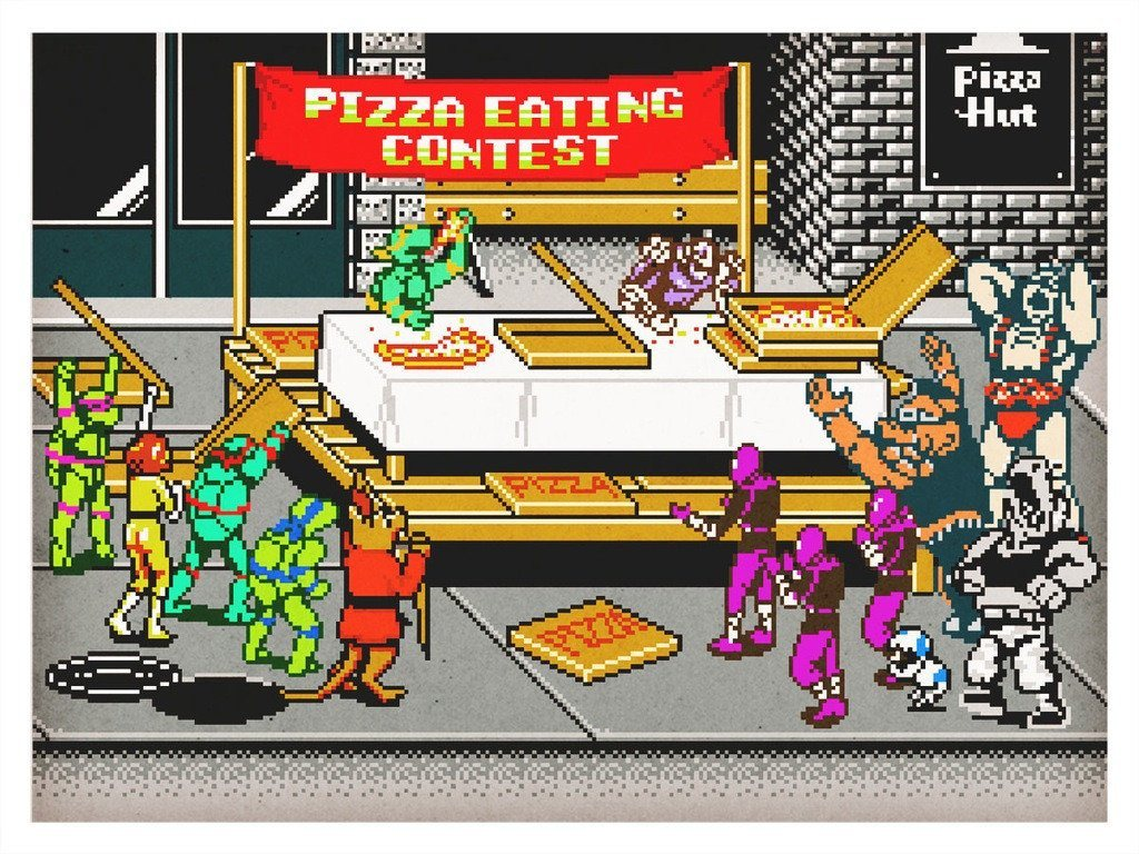 War & Pizza by Aled Lewis