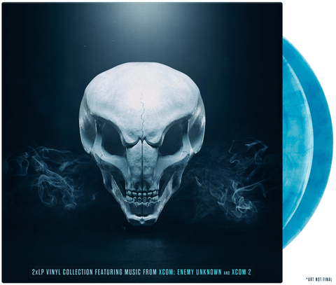XCOM Vinyl Soundtrack 2xLP
