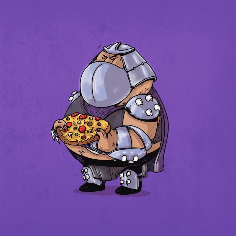 The Famous Chunkies: Shredder by Alex Solis