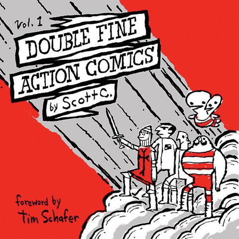 Double Fine Action Comics Vol. 1 by Scott C. (Softcover)