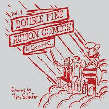 Double Fine Action Comics Vol. 1 (hardcover) by Scott C.