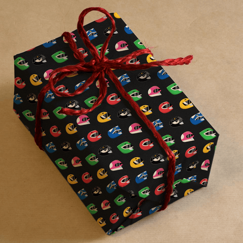 Power Rangers Wrapping Paper