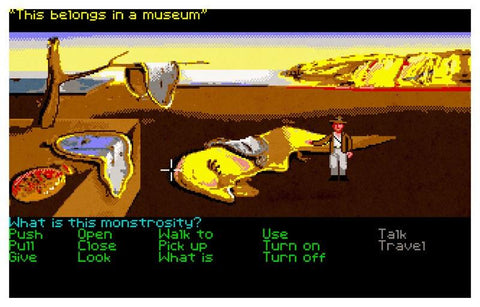 Indiana Jones and the Persistence of Memory by Aled Lewis