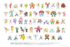 Know Your Street Fighters by Ken Wong