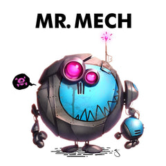 Mr. Mech by CreatureBox