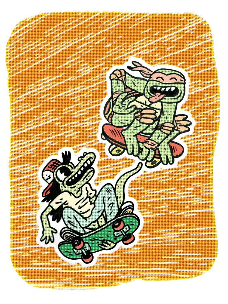 Mikey and Mondo by Jeremy Tinder