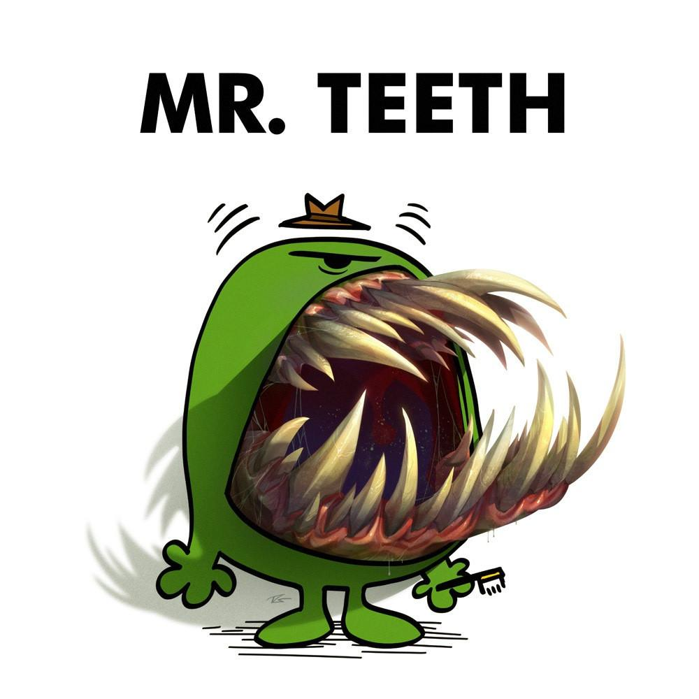 Mr. Teeth by CreatureBox