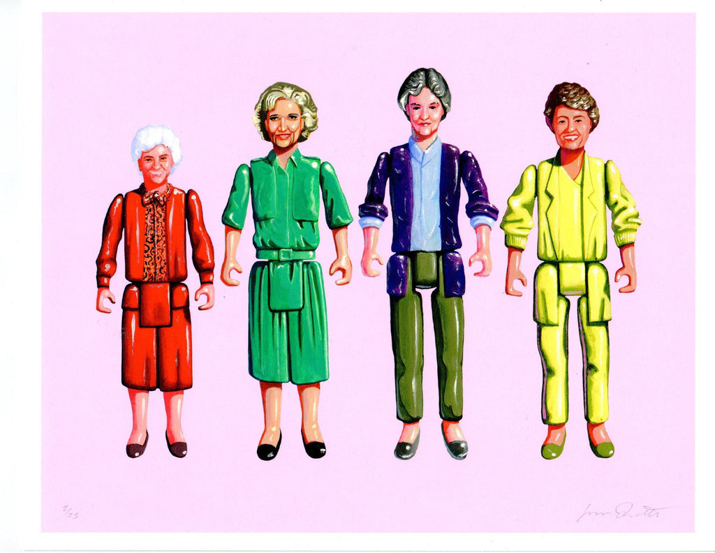 Golden Girls Print by Jason Brockert