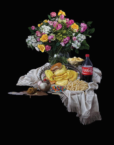 Still Life with Food Issues by Amber Iwata