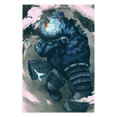 Shadow of the Colossus Screenprint by Nimit Malavia