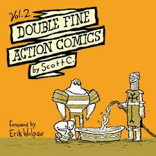 Double Fine Action Comics Vol. 2 by Scott C. (Softcover)