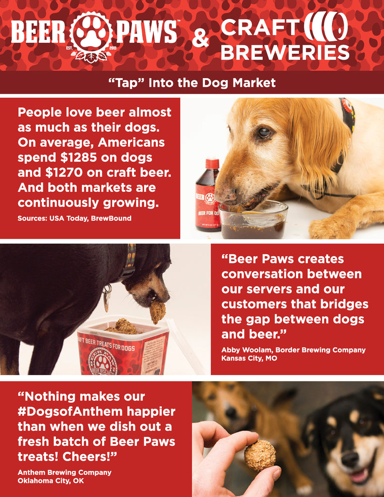 Beer Paws CBC Specials Brochure Information Testimonials