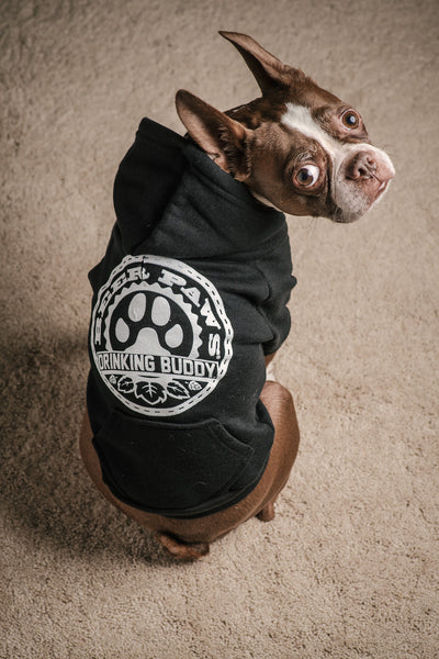 Drinking Buddy Hoodie for Dogs