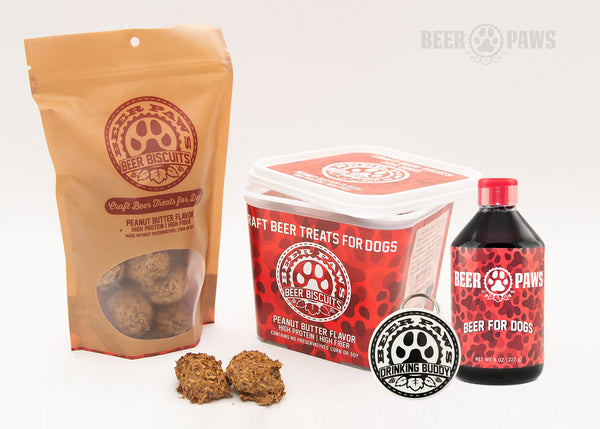 Beer Paws Box: Monthly Box of Beer Biscuits for Dogs