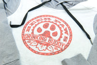 Beer Paws Athletic Style Pullover Hoodie