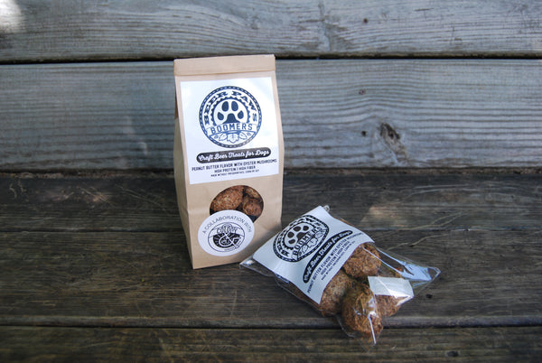 Boomers Oyster Mushroom Beer Biscuits for Dogs