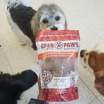 Original Beer Paws Pumpkin Spice Beer Biscuits Craft Beer Treats for Dogs