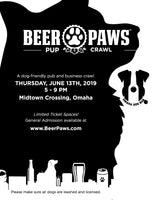 Omaha Beer Paws Pup Crawl at Midtown Crossing - Thursday, June 13, 2019