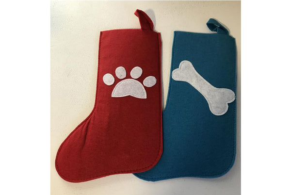 Holiday Stockings for Dogs and Cats