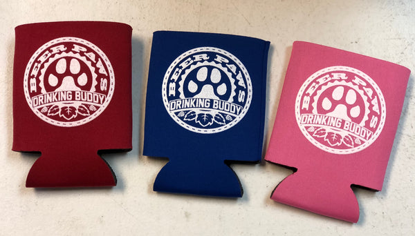 Beer Paws Drinking Buddy Beer Koozies