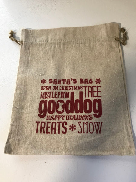 Canvas Holiday Tote Bag