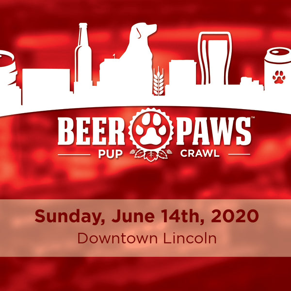 2nd Downtown Lincoln Beer Paws Pup Crawl - Sunday, June 14th