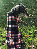 Adjustable Fleece Coats for Dogs and Cats with Drinking Buddy Embroidery