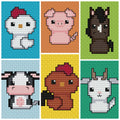 Born in a Barn Cross Stitch Collection 1 - CraftyAlien.com