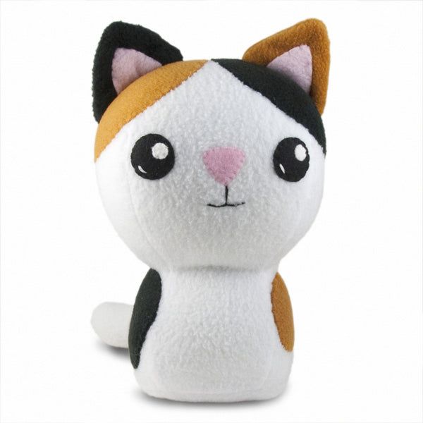 "Adorblings™ Calico Kitty Plushie Stuffed Toy - Large - 10"" - CraftyAlien.com"