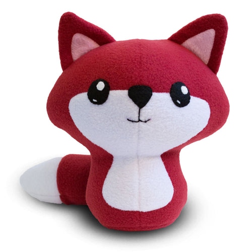 "Fox Plushie Stuffed Toy - Large - 10"" - CraftyAlien.com"